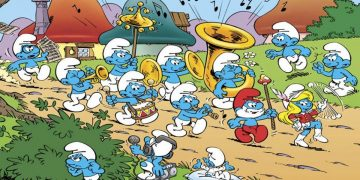 The Smurfs will star in five new video games, starting with a 3D platformer this year