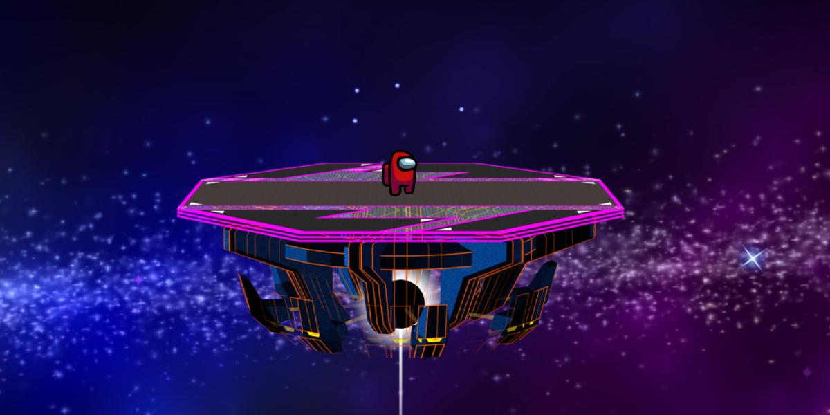The Sumer Smash Bros. Melee Easter Egg on the Among Us Airship map