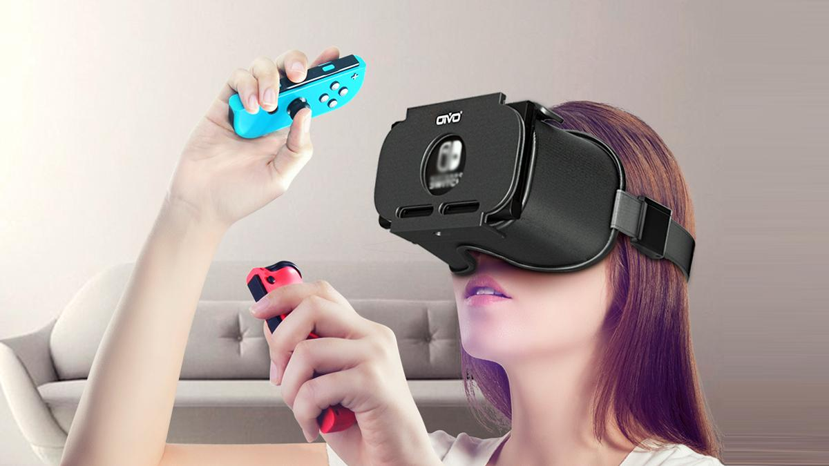These VR glasses for Nintendo Switch cost less than 30 euros and are the perfect alternative to Labo's