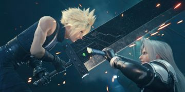 These are the Final Fantasy VII Remake Intergrade editions on PS5