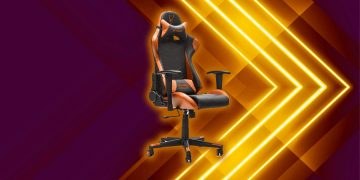 This Woxter gaming chair is reclining, has LED lights and is on sale: it costs you 130 euros