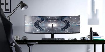 This curved Samsung monitor is pure luxury to play: 49-inch ultra-wide with 240 Hz frequency for 1,270 euros