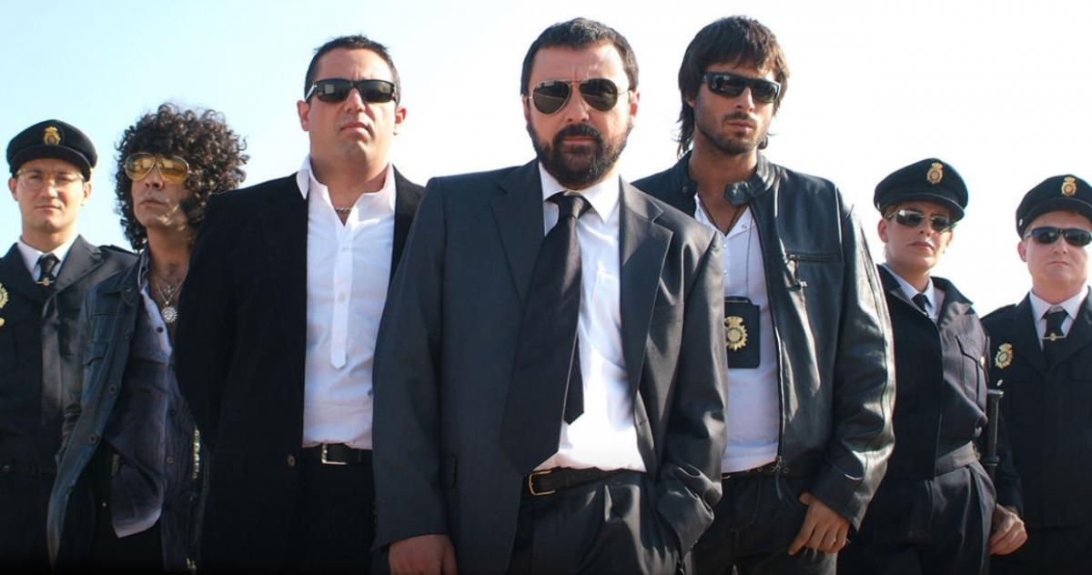 This is how the protagonists of Los Hombres de Paco were in its first episode