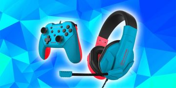 This pack for Nintendo Switch includes a controller and headphones, and it also costs only 24.99 euros