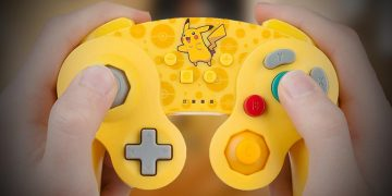 This retro wireless controller by Pikachu for Nintendo Switch is perfect for nostalgic people and costs only 25 euros