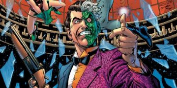 This spectacular Two-Face figure is nothing ... Cara