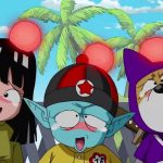 This would be the Pilaf band from Dragon Ball with a more realistic style