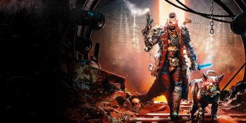 Trailer for Necromunda: Hired Gun, the subjective shooter set in Warhammer 40,000