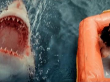 Trailer of Great White, to be scared with a white shark