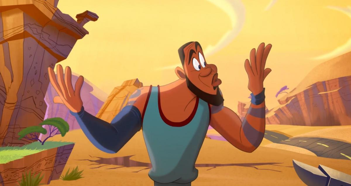 Trailer of Space Jam: New Legends, with Lebron James and the Looney Tunes