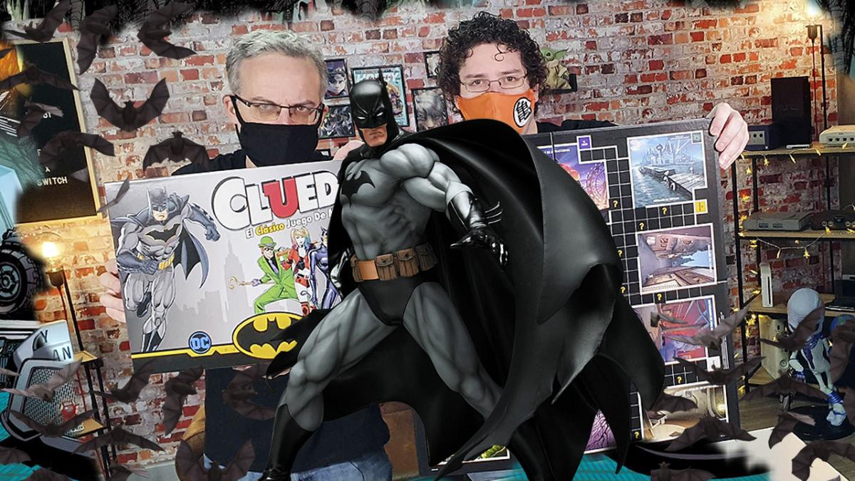 Unboxing of the Cluedo Batman edition, the popular board game with the Dark Knight's villains