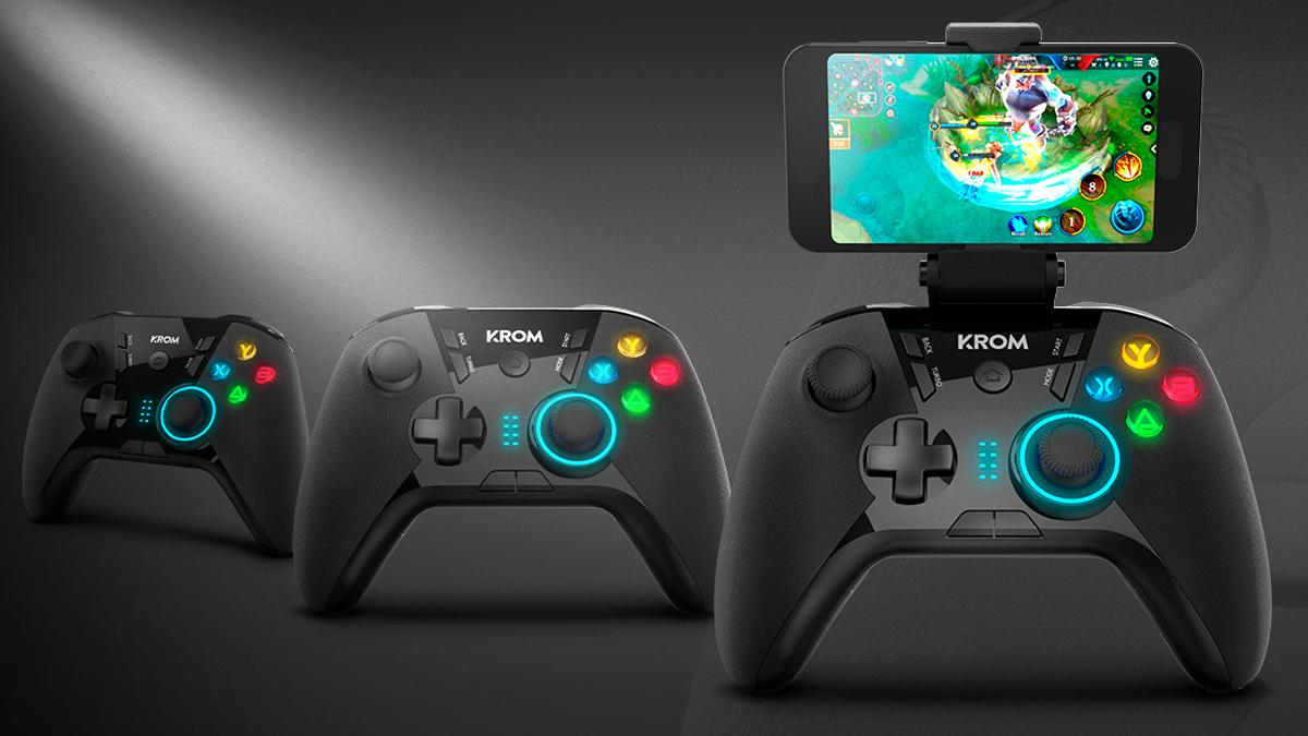 With this wireless control you can turn your mobile into a portable console for less than 30 euros