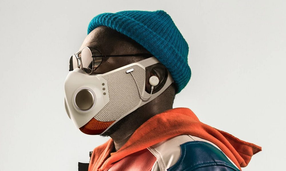 Xupermask, una mascarilla futurista para geeks con un toque cyberpunk 31