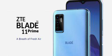 ZTE Blade 11 Prime smartphone económico