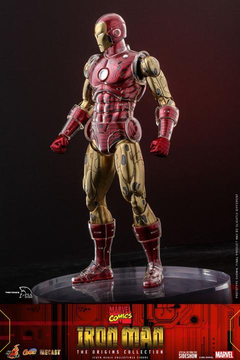 Classic Iron Man - Hot Toys