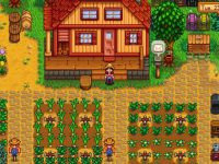A Stardew Valley player proudly displays his 20-year-old farm