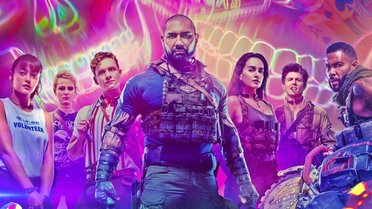 Army of the Dead has arrived on Netflix ... and the zombies invade Madrid in a frenetic Escape Room!