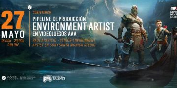 Discover the secrets of God of War art production in the free talk held by Voxel School today