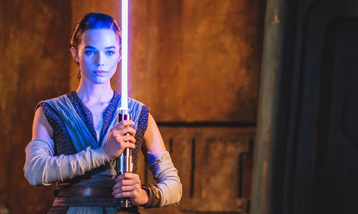 Disney officially unveils first REAL Star Wars lightsaber