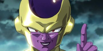 Dragon Ball - This is the giant figure of Golden Freeza from the Gigantic line