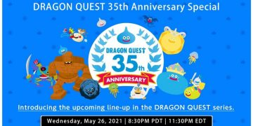"""Dragon Quest Announces 35th Anniversary Live for May 27 with """"Information and Revelation of New Titles"""""""