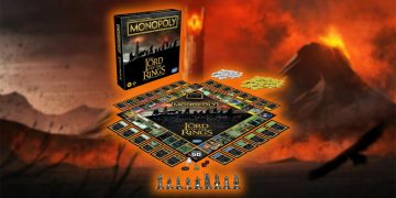 From Rivendell to Mordor: conquer all the territories of Middle-earth with the Monoply of the Lord of the Rings for less than 40 euros