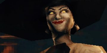 Imagine what the Resident Evil Village demake would be like for PS1 with a scarier Dimitrescu