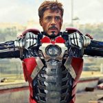 Iron Man dons his Mark V armor on this spectacular Hot Toys figure