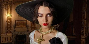 Jill Valentine's Face Model Celebrates Resident Evil Village Launch By Playing Dressed Up As Lady Dimitrescu