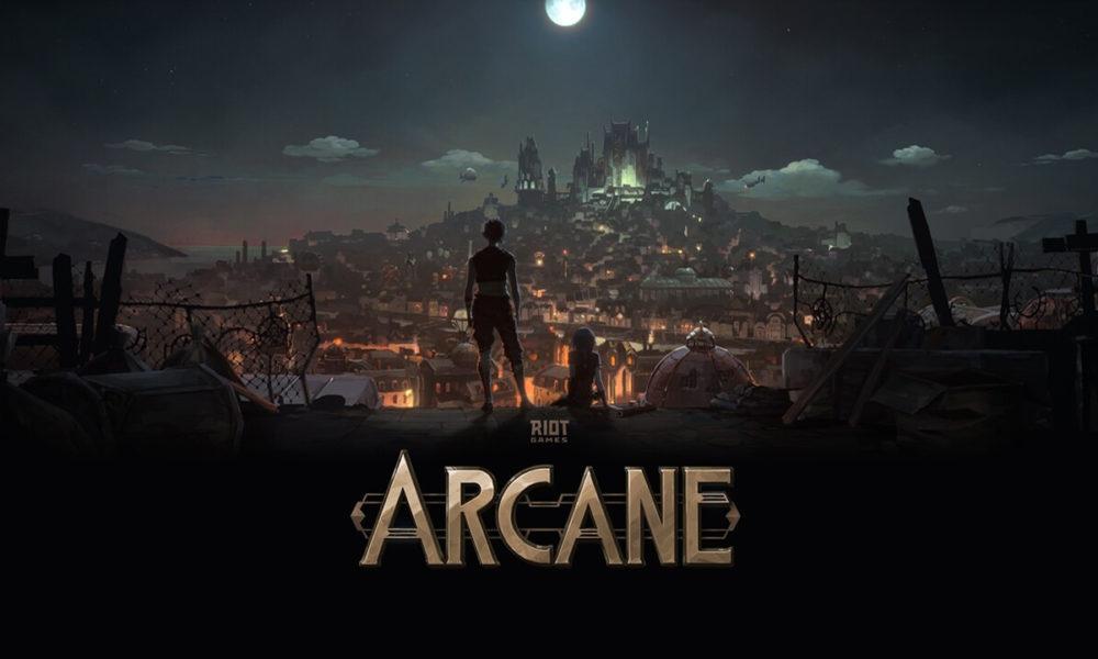 Riot Games League of Legends Arcane Netflix