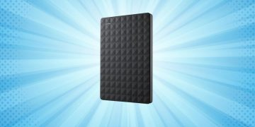 More space for less money: this Seagate portable hard drive has 5TB of capacity and is reduced to 99 euros