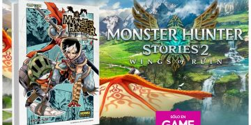 Pre-order Monster Hunter Stories 2 Wings of Ruin in GAME stores to get an exclusive manga from the saga as a gift