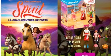Reserve Spirit: The great Adventure of Fortu in GAME and get an exclusive Playmobil set as a gift