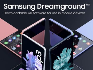 Samsung Dreamground software juegos AR