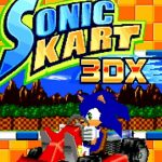 Sonic Kart 3DX, a blue hedgehog driving title, comes online leaving a part of the 2005 game