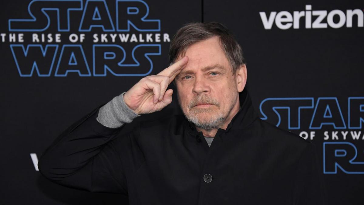 The curious message with which Mark Hamill celebrated Star Wars Day