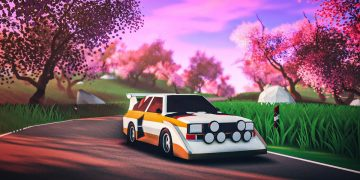 The minimalist and aesthetic races of Art of Rally will arrive on PS5 and PS4 this summer