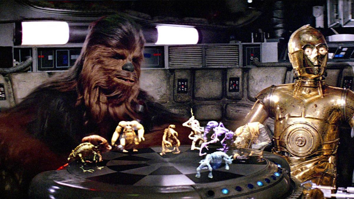 They sell exact replicas of the Star Wars Dejaik figures for an astronomical price