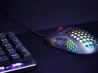 This gaming mouse is ultralight and will give you an advantage to win playing online: you can buy it for 29 euros