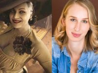 This is the actress who plays Lady Dimitrescu in Resident Evil Village