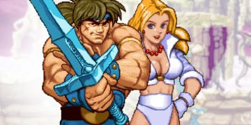 This was Golden Ax: the Duel, the fighting game for Saturn
