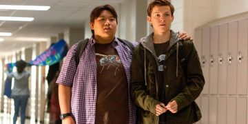 Tom Holland and Jacob Batalon return to high school in new photos from filming Spider-Man: No Way Home