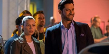 Trailer of the second part of season 5 of Lucifer, with a celestial presence