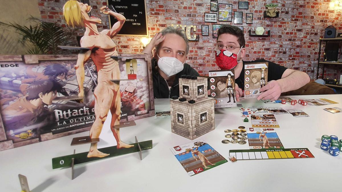 Unboxing of Attack on Titan: The Last Stand, Shingeki no Kyojin's great board game