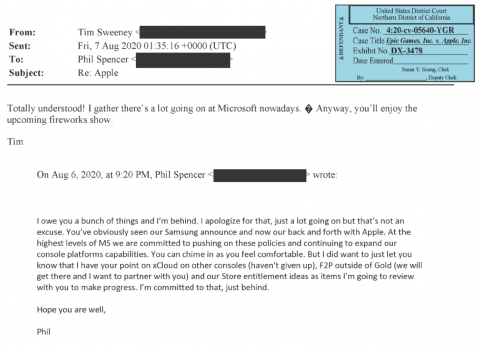 Phil Spencer Mail