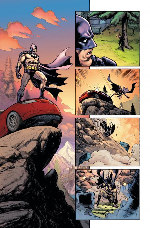 Fortnite Batman Comics