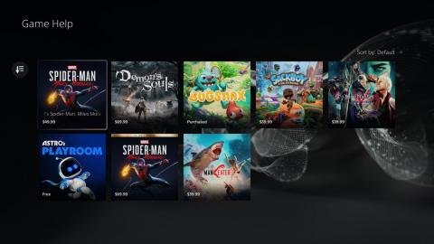 PS5 games compatible with game aid