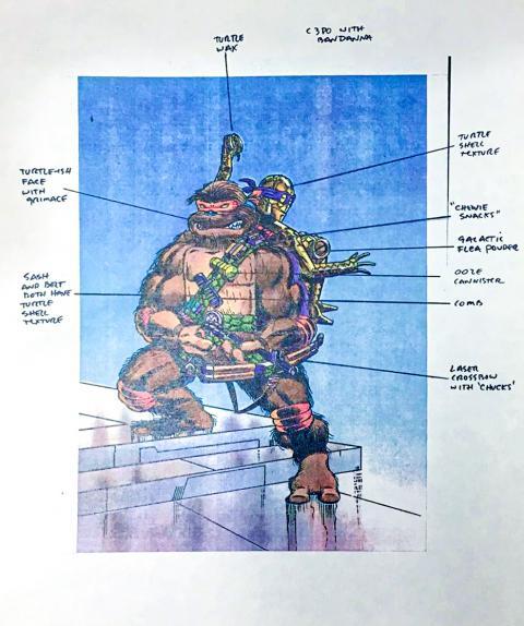 Star Wars Ninja Turtles toys