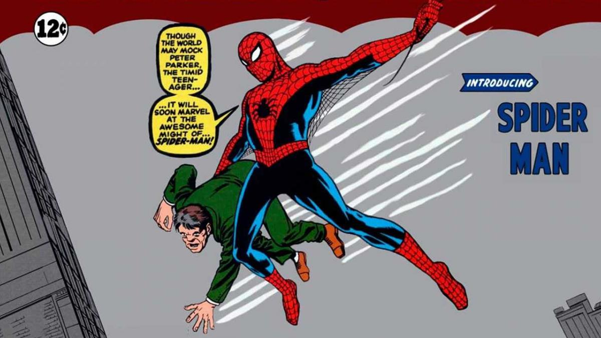 A copy of the first appearance of Spider-man sells for more than a million dollars