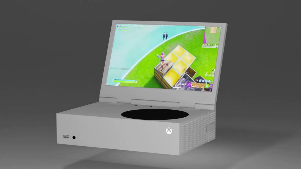 Announced xScreen, the screen that docks to Xbox Series S to play anywhere